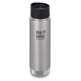 Klean Kanteen Wide Vacuum Insulated Drinkfles 592ml met Café Cap 2.0 grijs
